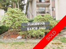 White Rock Apartment for sale: BLACKWOOD MANOR 1 bedroom 624 sq.ft. (Listed 2017-09-27)